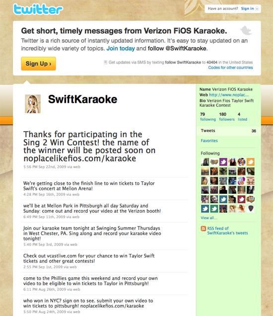 Taylor Swift Sing to Win Karaoke - Winning Strategies ITS