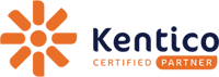 Kentico certified partner logo